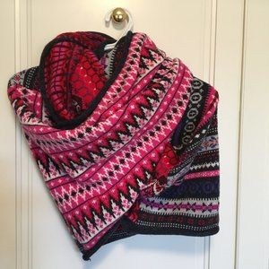 Multi knit colourful H&M infinity scarf OS